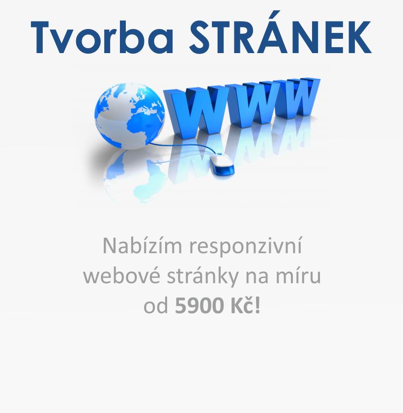 Webové stránky levně